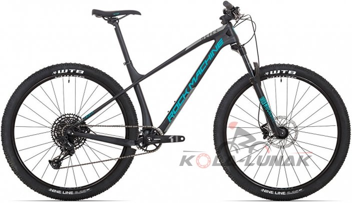 kolo Rock Machine Blizz CRB 30-29 mat black/dark grey/petrol blue 2020 vel. M