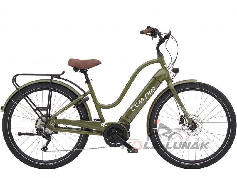 Townie Path Go! 10D - Olive Green
