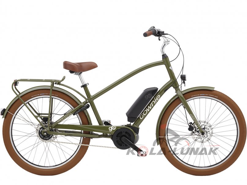 Townie Go! 5i - Olive Green